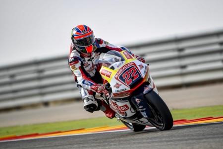 Sam Lowes Gresini Racing Moto2 Aragon 2016