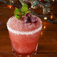 Cóctel Margarita edición Año Nuevo. Receta de bebida