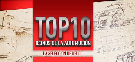 Top10 de iconos de la automoción: la selección de Delco