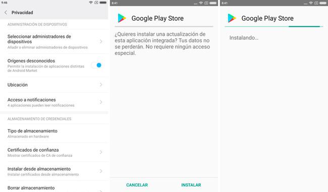 Play Store Icono