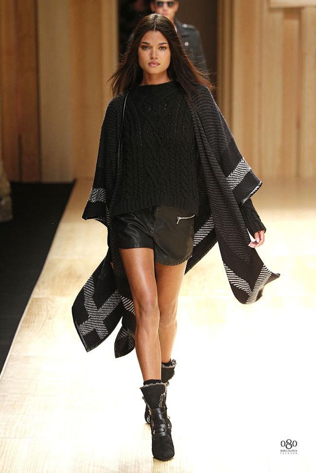 Foto de Mango abre la 080 Barcelona Fashion con su colección Otoño-Invierno 2014 y Toni Garrn (26/41)