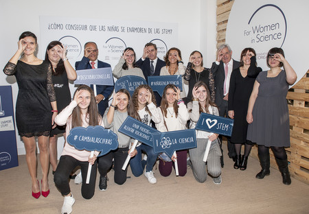 Foto Grupo L Oreal Unesco For Women In Science