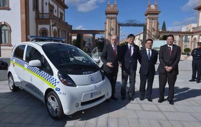 El Ayuntamiento de Málaga incorpora 20 coches eléctricos a su flota