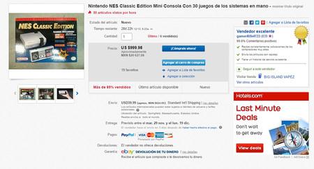 Nintendo Classic Mini Nes Ebay 02