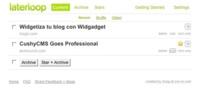 Laterloop, guarda los enlaces de sitios web para acceder a ellos tranquilamente