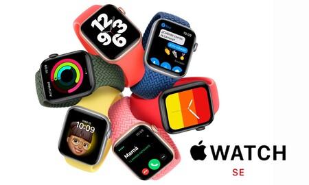 Ya te puedes ahorrar unos euros en el nuevo reloj superventas de Apple: en Amazon tienes el Watch SE de 40mm por 285 euros y el de 44mm a 309 euros