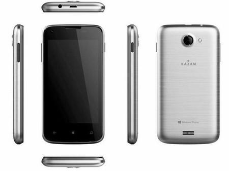 Kazam lanza el Thunder 340W, el primer teléfono de su nueva gama de Windows Phone