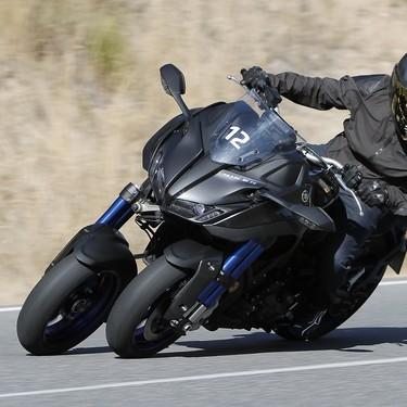 Probamos la espectacular Yamaha Niken: Tres ruedas para romper los límites de la diversión en moto