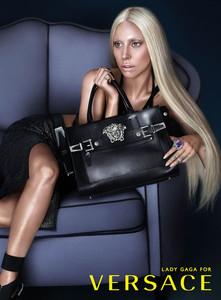 Y Lady Gaga fichó como la nueva Donatella de Versace