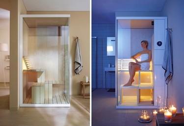 Saunas compactas para espacios pequeños