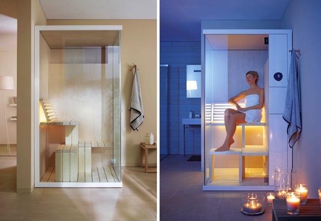 Saunas compactas para espacios peque os - Que es una sauna ...