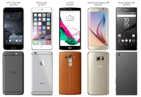 Disenos Smartphones 2015