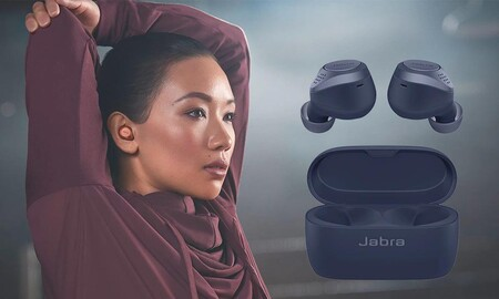 Ahorra 50 euros en los Jabra Elite Active 75t en Amazon. Llévate estos auriculares deportivos con cancelación de ruido por 148,99 euros