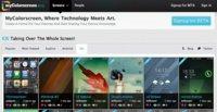 MyColorscreen, la red social para compartir el escritorio de tu dispositivo iOS