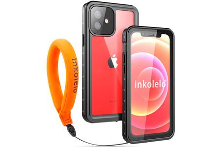 Funda Impermeable Iphone 12 Con Correa Flotante