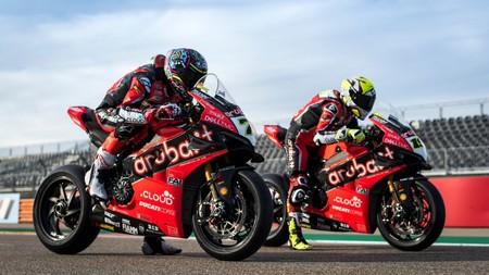 Chaz Davies Alvaro Bautista Ducati