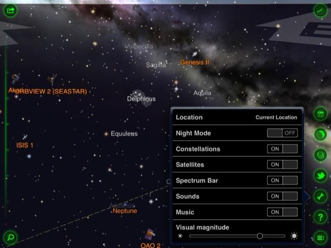Configuración de la aplicación
