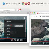 Esta extensión para Safari te indica si un vídeo de YouTube está disponible en 4K (para que cambies de navegador)