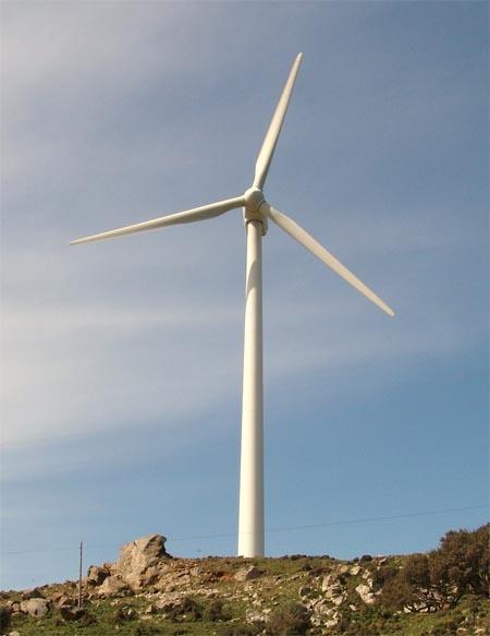 ¿Cuánta potencia desarrolla un aerogenerador? (I)