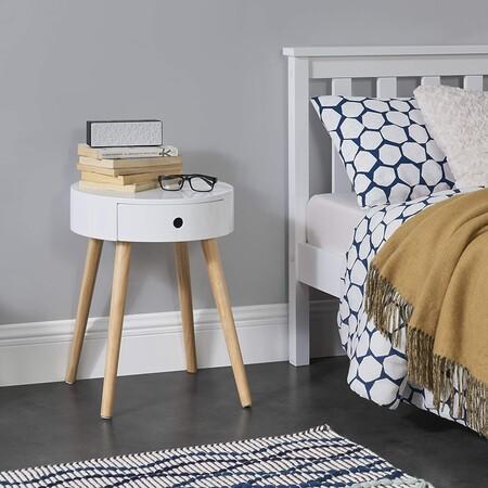 21 mesitas de noche de varios estilos, de entre las más vendidas en Amazon, para actualizar el dormitorio