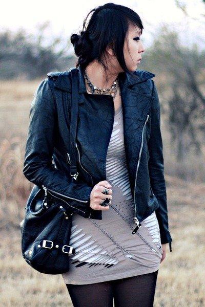 cazadora estilo punk