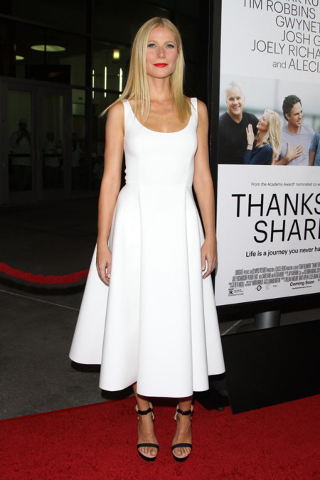 Gwyneth Paltrow look blanco