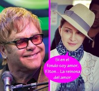 Elton John entierra el hacha: la pelea de reinas con Madonna se acabó