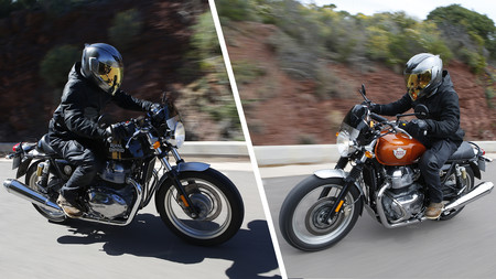 Probamos las Royal Enfield Interceptor INT 650 y Continental GT 650: motos clásicas para el carnet A2 desde 6.200 euros