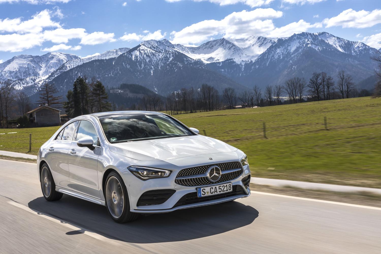 Foto de Mercedes-Benz CLA Coupé 2019, toma de contacto (109/248)