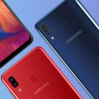 Samsung Galaxy A20e vs Samsung Galaxy A20: en esto se parecen y diferencian los gemelos de la serie A