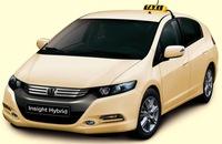 Honda Insight y Civic híbrido, opciones para taxi