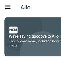 Cómo exportar tus chats de Allo