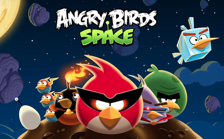 Angry Birds Space llega a la BlackBerry Playbook