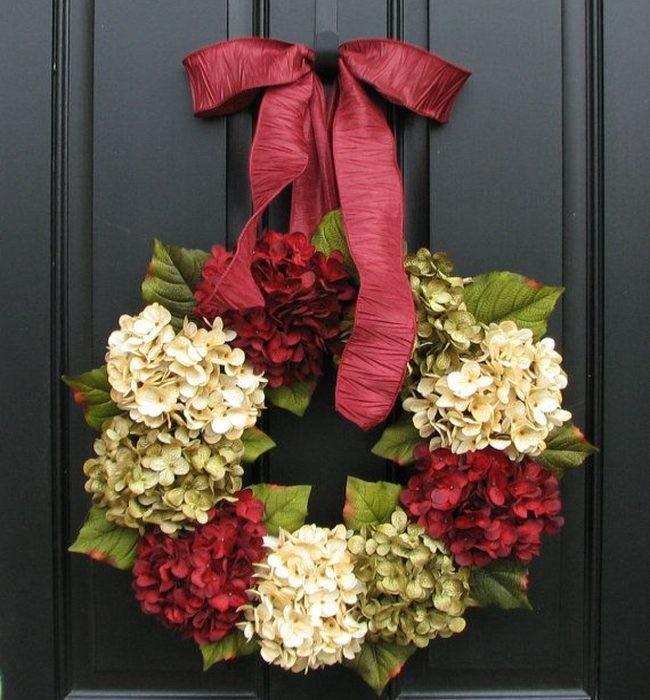 5 coronas de navidad que puedes hacer t mismo for Como hacer una corona de navidad para la puerta