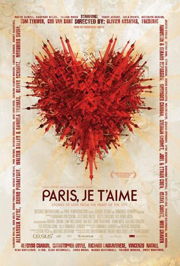 Paris je t'aime: Posters, web oficial y estreno en San Sebastián
