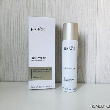 Probamos la mascarilla espumosa de Babor, un alivio muy apetecible para las pieles más secas
