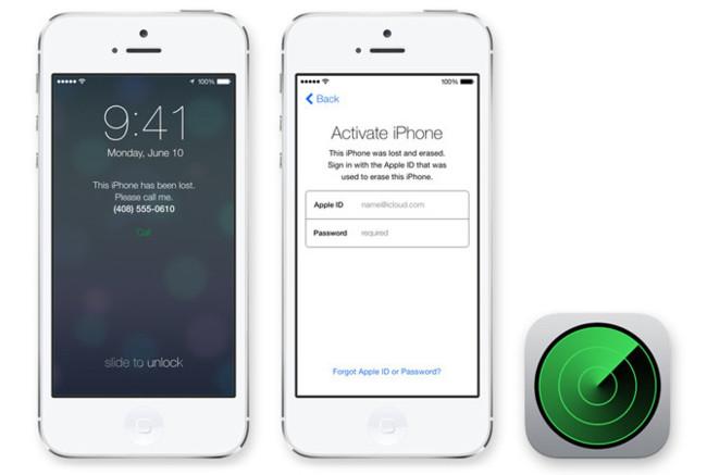 Bloqueo de activación del iPhone con iOS 7