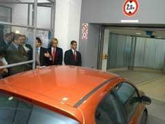 Primer aparcamiento robotizado en Madrid