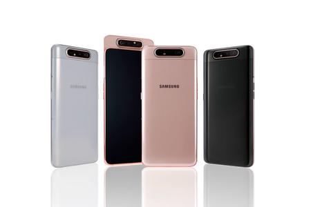 Samsung Galaxy A80: la cámara trasera es la delantera con este original mecanismo rotatorio