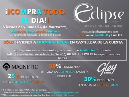 Eclipse by Magnetic celebra la ´Fiesta de la Belleza` en Sevilla con descuentos