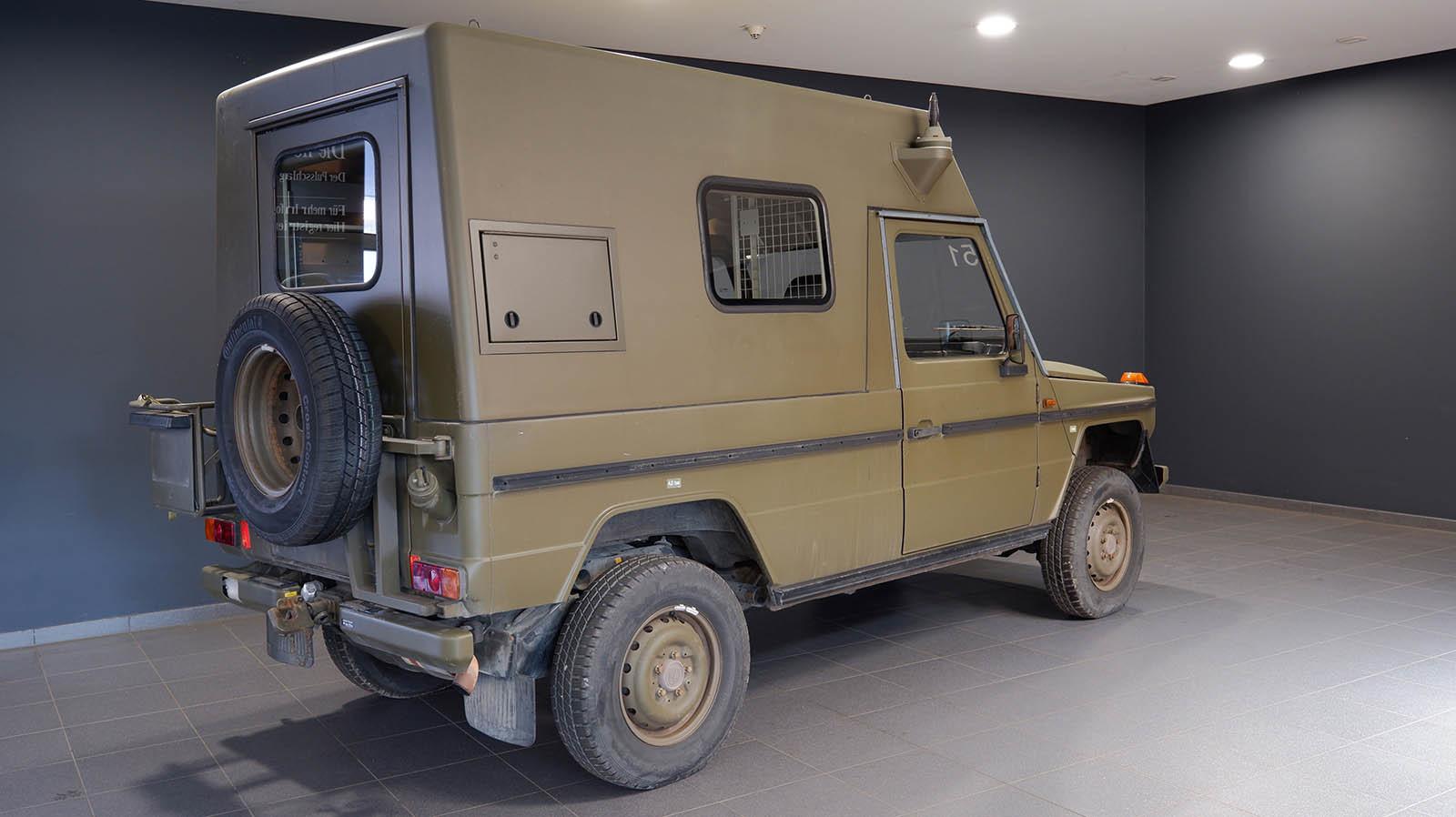 Foto de Mercedes Clase G ejército suizo en Lorinser (11/12)