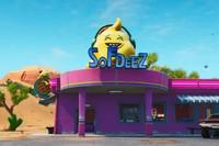 Desafío Fortnite: dónde conseguir el Fortbyte 6 accesible con ¡Yuju! Hazle un gesto a una heladería en el desierto. Solución