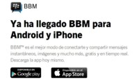 BlackBerry Messenger llega a iOS y Android, aunque con lista de espera para usarlo