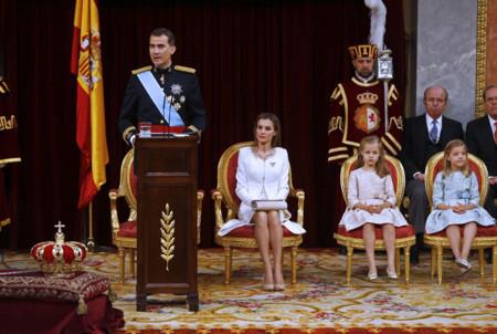 Discurso Felipe VI Letizia Ortiz rey reina