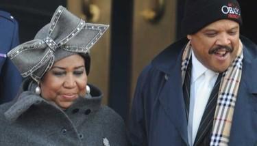 Aretha Franklin en la toma de posesión de Barack Obama