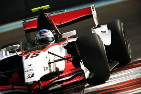 Fabio Leimer sigue como el más rápido en los test de la GP2 en Abu Dhabi