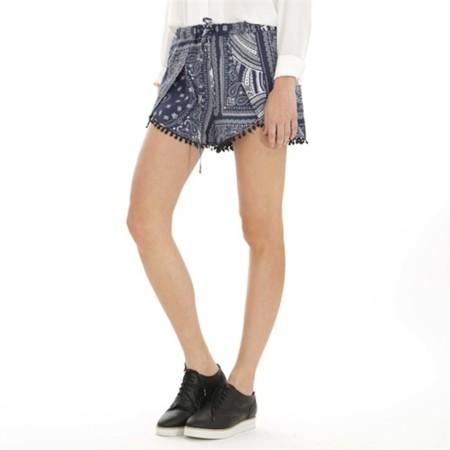 Shorts Print Azules
