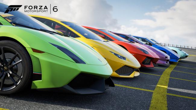 Forza 6 Lamborghini Genova