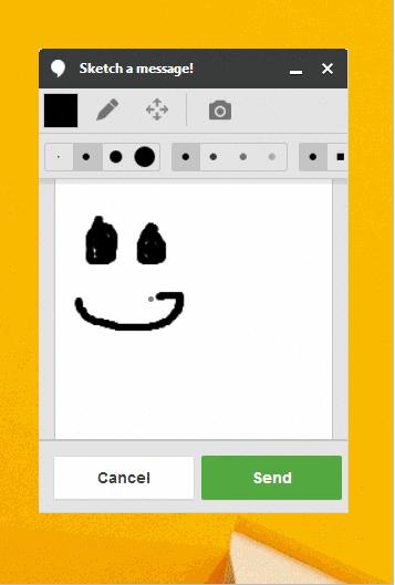 Hangouts desde web nos permite ahora dibujar