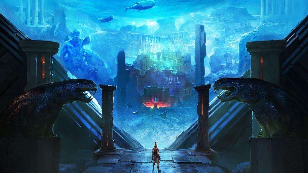 Assassin's Creed mezcla dioses y atlantes en el épico tráiler de su nuevo DLC, El Destino de la Atlántida
